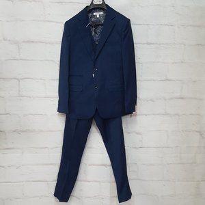 Isaac Mizrahi Boys 3 Piece Suit Navy Sz16